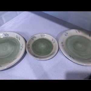 Set of 3 Display Plates
